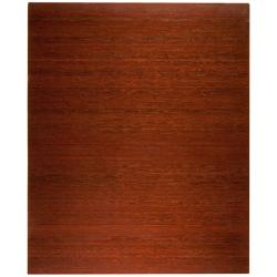 Eco Bamboo Deluxe Rectangular Cherry Chair Mat (60 x 48)