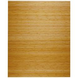Eco Bamboo Deluxe Rectangular Natural Chair Mat (60 x 48)