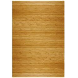 Eco Bamboo Deluxe Rectangular Natural Chair Mat (72 x 48)