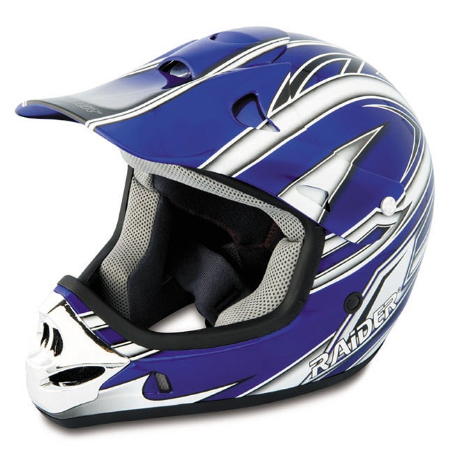 Blue Raider MX3 Light Thermoplastic Youth Helmet with  : Blue Raider MX3 Light Thermoplastic Youth Helmet with Adjustable Visor L13206902 No Motorcycle Helmet <strong>Viser DRT</strong> from www.overstock.com size 650 x 650 jpeg 67kB