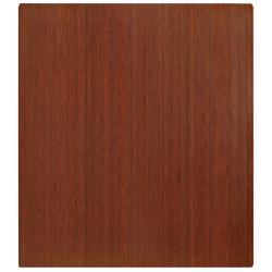 Eco Bamboo Standard Rectangular Cherry Chair Mat (42 x 48)