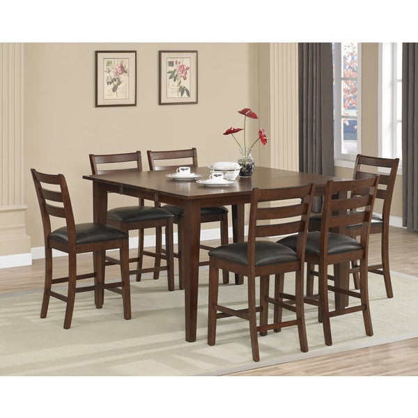 Dalton 7-piece Butterfly Leaf Counter-height Dining Set