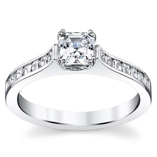 14k White Gold 1 5/8ct TDW Diamond Ring (H-I, VS1-VS2)