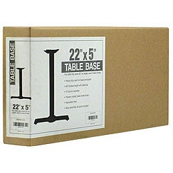 Attco 22x5-in Table Base