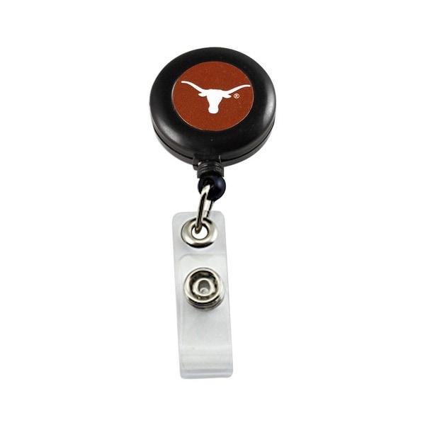 Texas Longhorns Retractable Badge Reel Id Ticket Clip