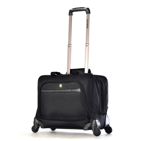 Olympia Hover Deluxe 15 Inch Laptop Carry On Spinner