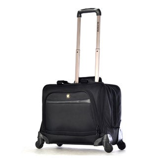 Olympia's Deluxe 15-inch Laptop Carry On Spinner Overnight Business Tote