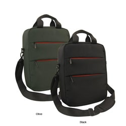 Olympia 14-inch Vertical Laptop Messenger Bag