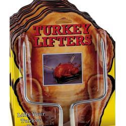 Steel Turkey Lifters (Set of 2)
