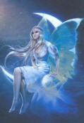 White Fairy (Notebook / blank book)