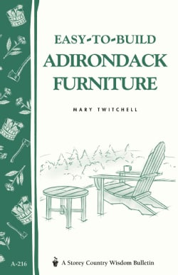 Easy-To-Build Adirondack Furniture (Paperback)