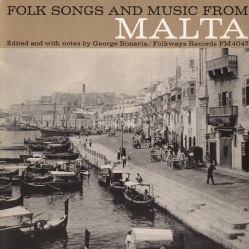 Various - Folk Songs and Music from Malta