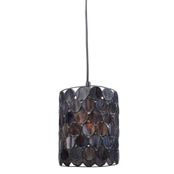 Indoor 1-light Black Pendant