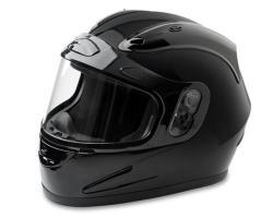 Mossi Black Full Face Snow Helmet