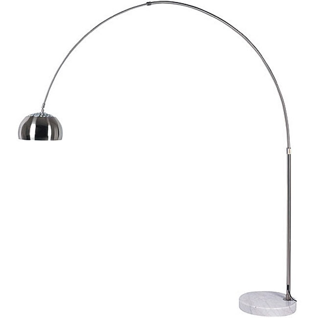 Brushed Nickel Floor Lamp  Overstock Shopping  Great Deals on Floor