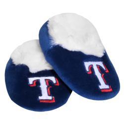 MLB Texas Rangers Baby Bootie Slippers
