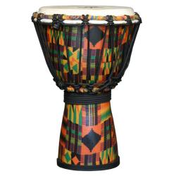Kente Cloth Rope-tuned Djembe (Indonesia)