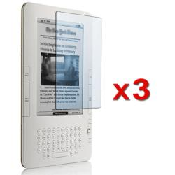 Insten Screen Protector for Amazon Kindle 2 (Pack of 3)