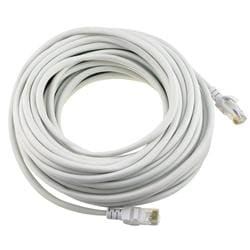 White CAT5E 50-foot Ethernet Cable