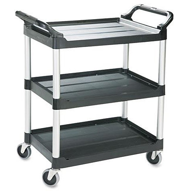 rubbermaid economy 3 shelf black plastic cart 13250030 20 best kitchen trolleys carts decoholic