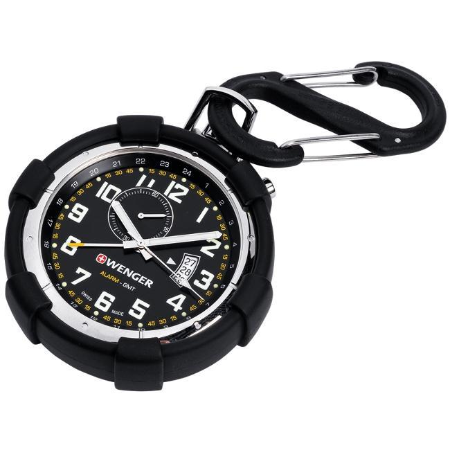 Wenger Men's 'Traveler Pocket Alarm' Watch