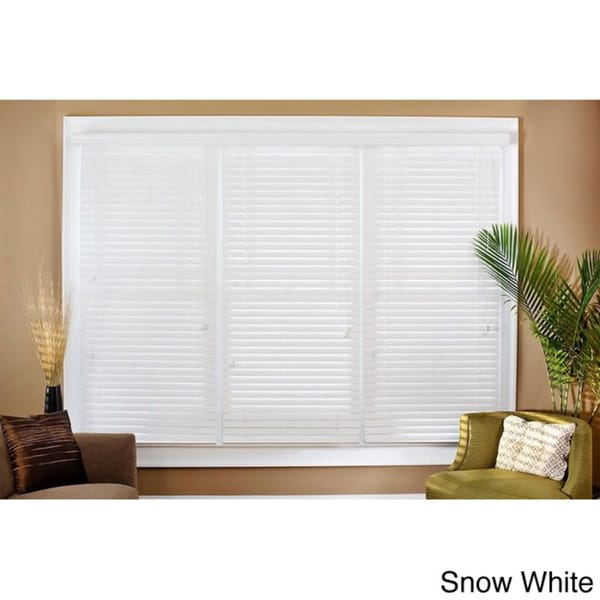 Faux Wood 17-inch Blinds