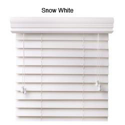 Faux Wood 27-inch Blinds