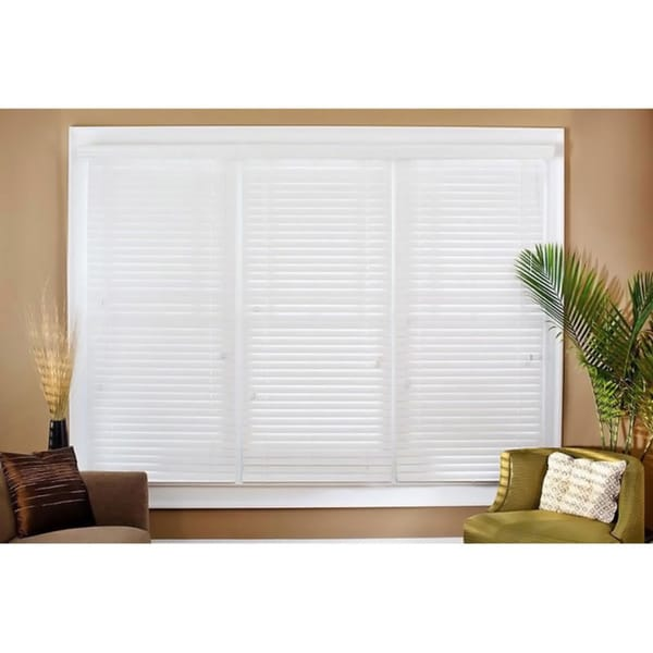 Faux Wood 42-inch Blinds
