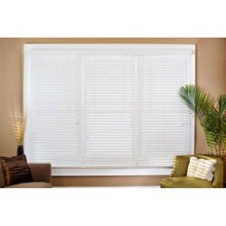 Faux Wood 50-inch Blinds