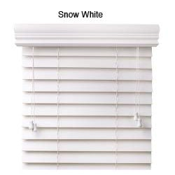 Faux Wood 53-inch Blinds