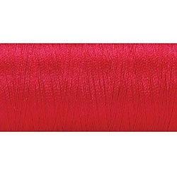 Vibrant Red 600-yard 100-percent Polyester Embroidery Thread