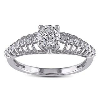 Miadora 14k White Gold 3/4ct TDW Diamond Ring (G-H, I2-I3)