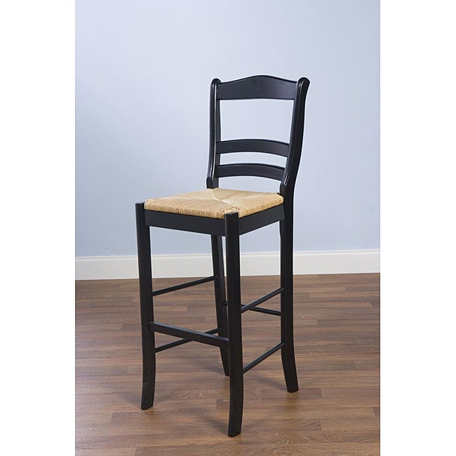 Simple Living Parker Black 30-inch Stool