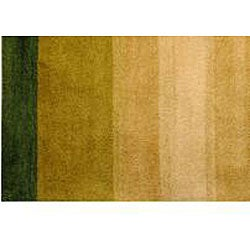 Hand-tufted Indo Multi-color Wool Rug (3' x 5')