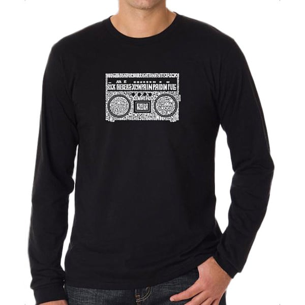 Los Angeles Pop Art Men's Boom Box T-shirt