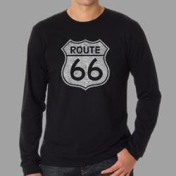 Los Angeles Pop Art Men's Route 66 T-shirt