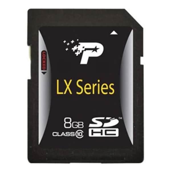 Patriot Memory 8GB LX Series Class 10 SDHC