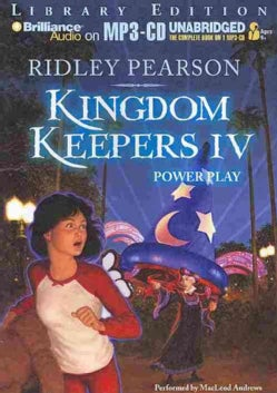 Kingdom Keepers IV: Power Play, Library Edition (CD-Audio)