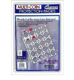 Multi-Coin Protection Pages: 20 Pockets / Page - 8 Sheets (Paperback)