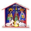 Ceramic 'Epiphany' Retablo Nativity Scene (Peru)