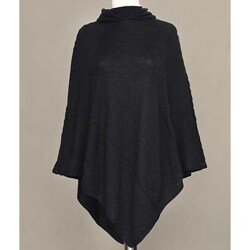 Alpaca Wool 'Eternal Magic' Hooded Poncho (Peru)