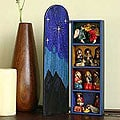 Wood 'Blue Nativity' Retablo (Peru)