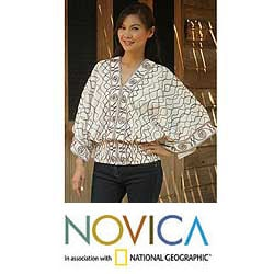 Cotton 'Northern Pride' Blouse (Thailand)