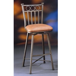 Bostonian Bronze 30-inch Swivel Bar Stool