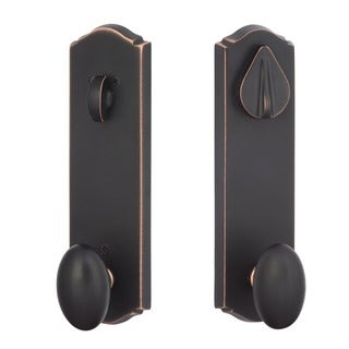 Sure-Loc Rustic Bronze Entrance Door Knob
