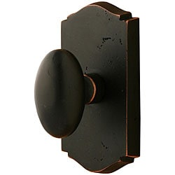 Sure-loc Rough Bronze Privacy Knob