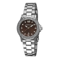 Stuhrling Original Women's Regatta Madam Diamond Stainless-Steel Swiss Quartz Watch