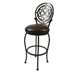 Island Falls 30-inch Swivel Bar Stool