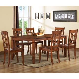 Athens 7-piece Traditional Walnut Dinin