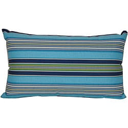 12 x 20-inch Highway Outdoor Turquoise Decorative Pillow